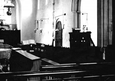 Church, interior looking West, 1980s